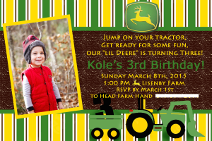 Kole's 3rd Birthday